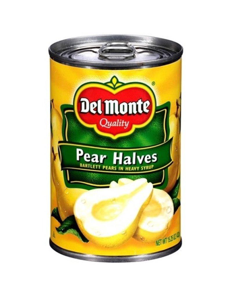 Del Monte Del Monte Pear Halves Heavy Syrup, 15.25 oz, 12 ct