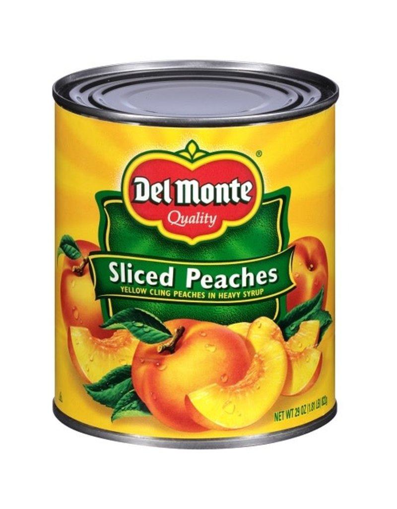 Del Monte Del Monte Sliced Yellow Cling Peaches, 29 oz, 6 ct