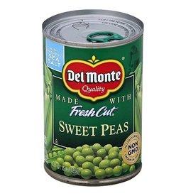 Del Monte Del Monte Sweet Peas Half Case, 15.25 oz, 12 ct