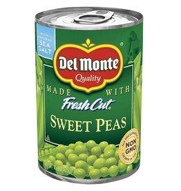 Del Monte Del Monte Sweet Peas, 15.25 oz, 24 ct