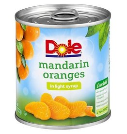 Dole Dole Mandarin Oranges In Lite Syrup, 11 oz, 12 ct