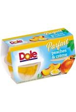 Dole Dole Peach Parfait Cup 4 ct, 17.2 oz (Pack of 6)