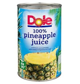 Dole Dole Pineapple Juice, 46 oz, 12 ct