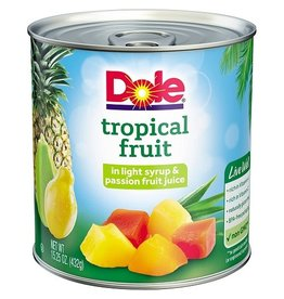 Dole Dole Tropical Fruit Mix, 15.25 oz, 12 ct