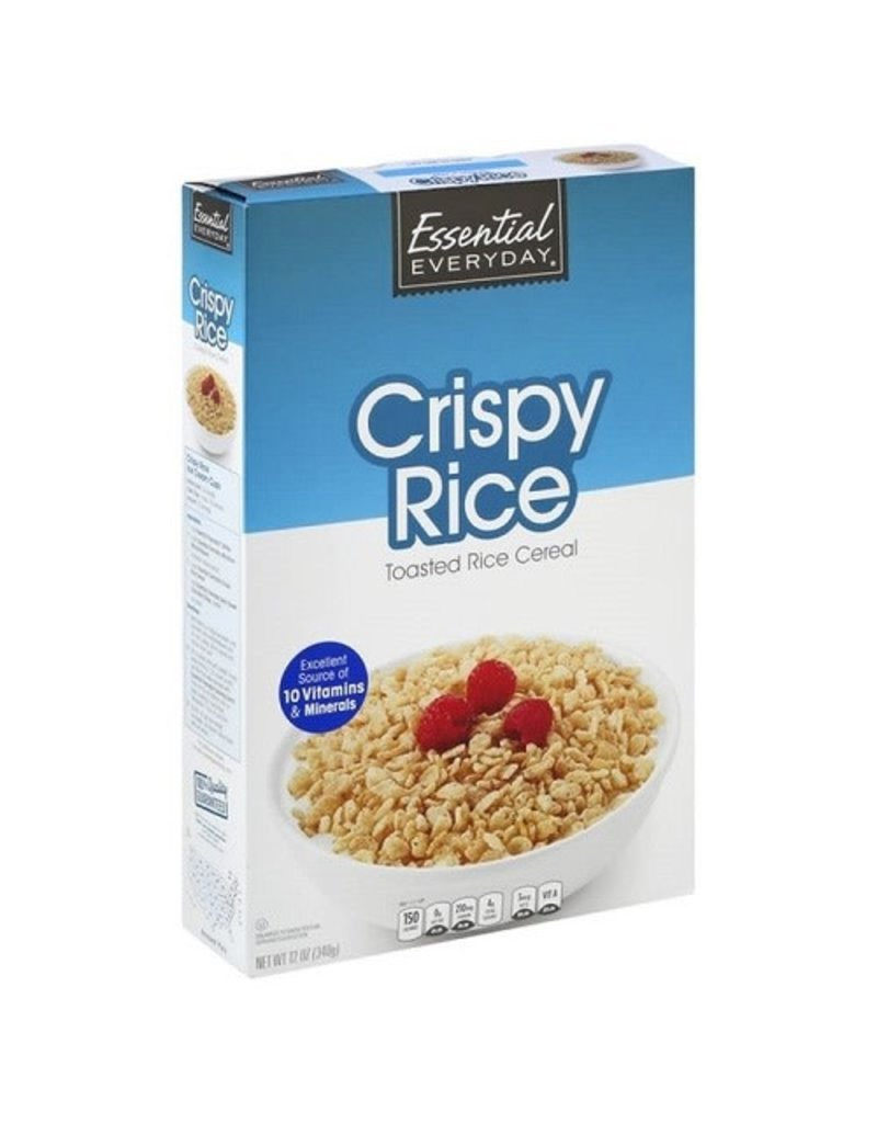 Essential Everyday EED Crispy Rice Cereal, 12 oz, 16 ct