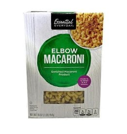 Essential Everyday EED Elbow Macaroni, 16 oz