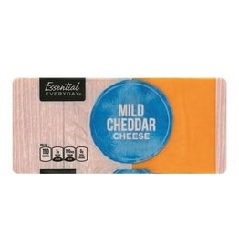 Essential Everyday EED Mild Cheddar Cheese, 16 oz