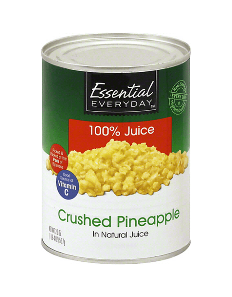 Essential Everyday EED Pineapple Crushed, 20 oz