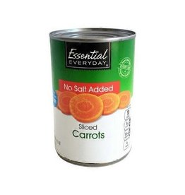 Essential Everyday EED Sliced Carrots, 14.5 oz