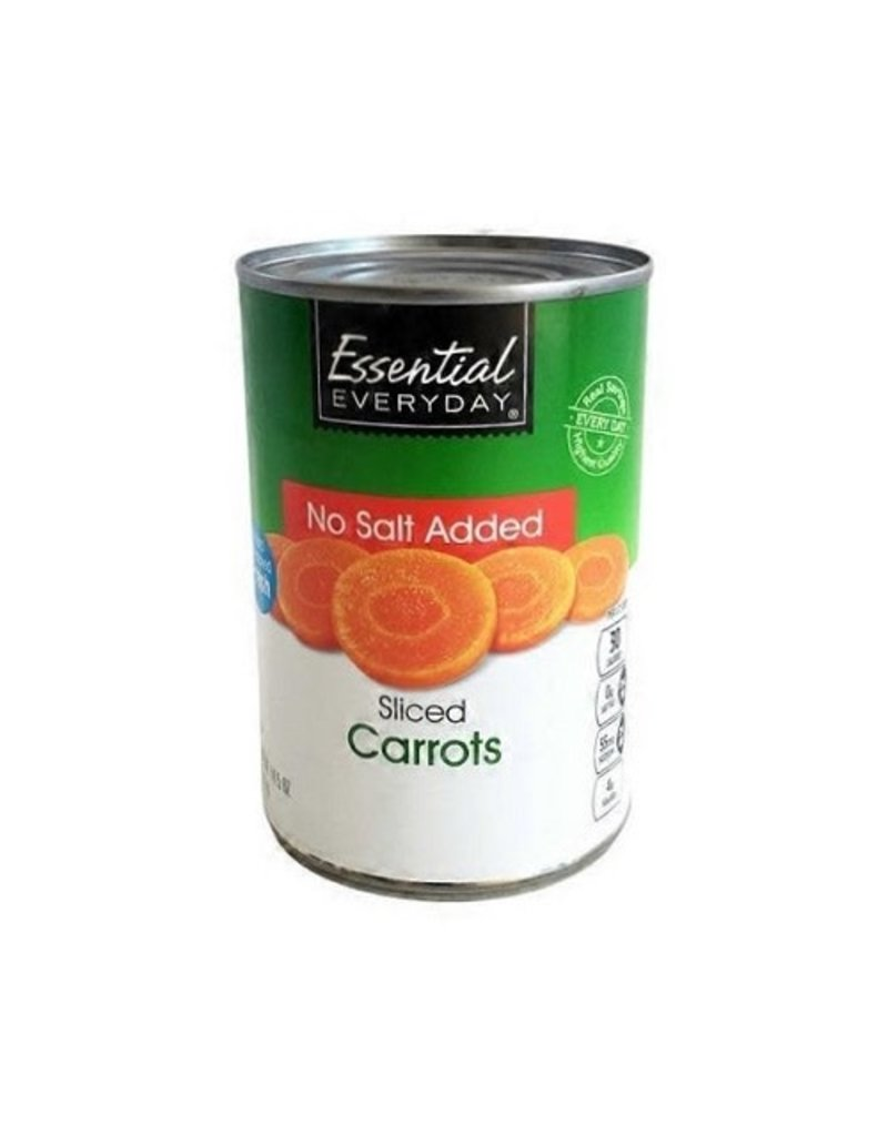 Essential Everyday EED Sliced Carrots, 14.5 oz, 12 ct