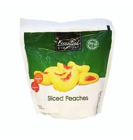 Essential Everyday EED Sliced Peaches, 16 oz, 12 ct