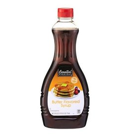 Essential Everyday EED Syrup Pancake Butter Flavor, 24 oz, 12 ct