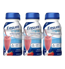 Ensure Ensure Original Nutrition Shake Strawberry, 6-8 oz, 4 ct