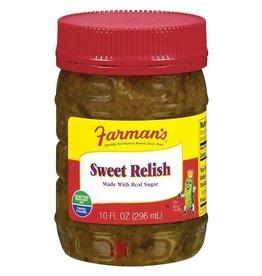 Farman's Farman's Sweet Relish, 10 oz