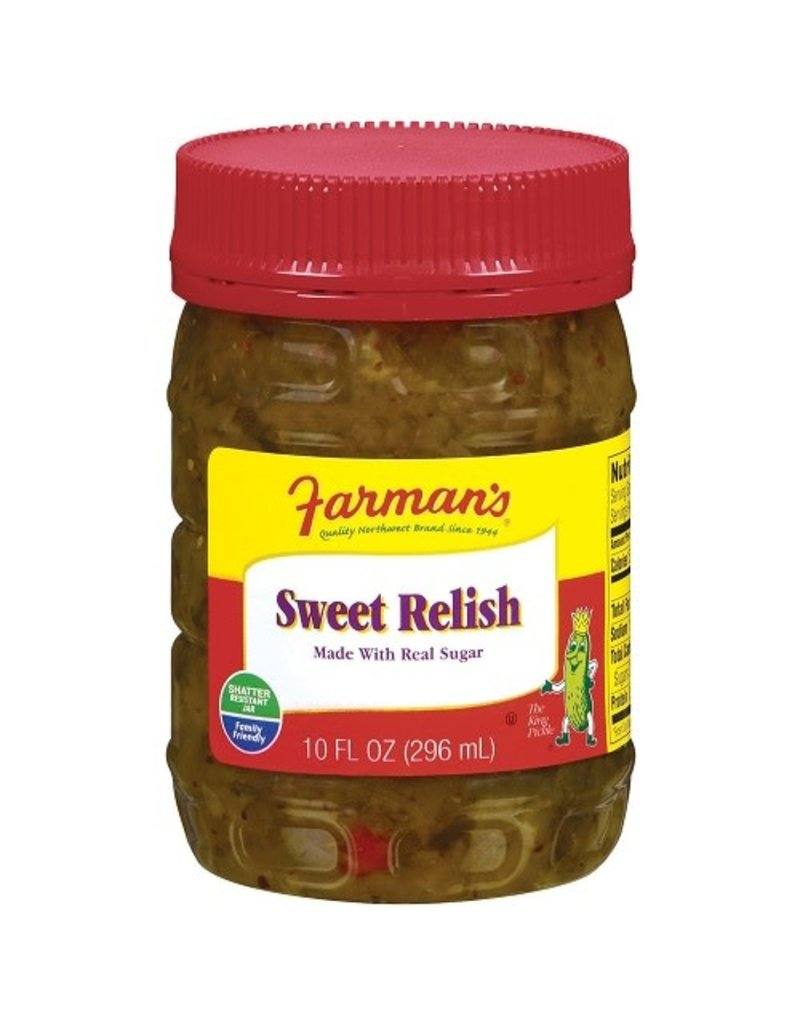 Farman's Farman's Sweet Relish, 10 oz