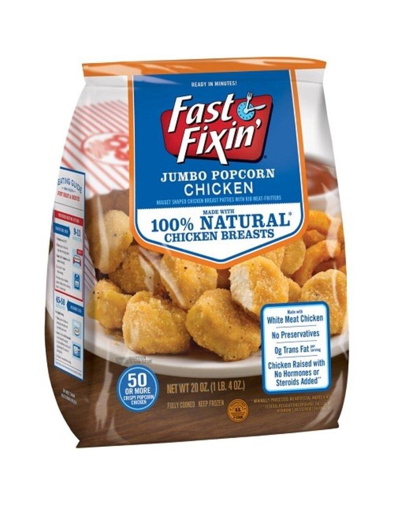 Fast Fixin Fast Fixin' Chicken Popcorn, 20 oz, 8 ct