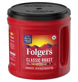 Folgers Folgers Ground Coffee Classic Roast, 30.5 oz, 6 ct
