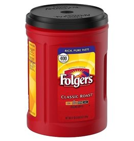 Folgers Folgers Ground Coffee Classic Roast, 51 oz, 6 ct