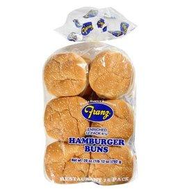 Franz Franz Hamburger Buns, 12 ct (Pack of 6)