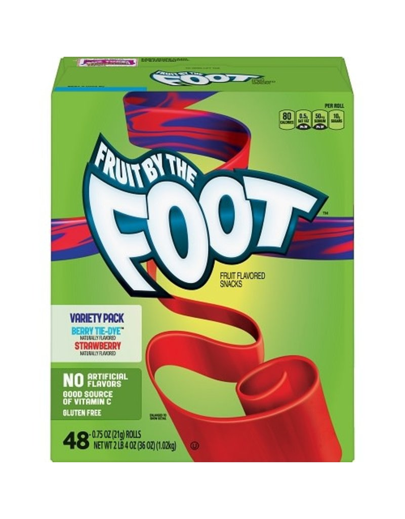 Fruit By The Foot Fruit By The Foot Variety Pack 48 ct