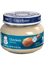 Gerber Gerber 2nd Foods Chicken & Gravy, 2.5