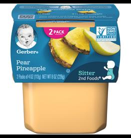 Gerber Gerber 2nd Foods Pear Pineapple, 8 oz