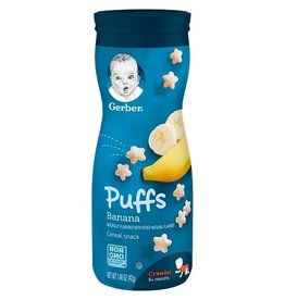Gerber Gerber Puffs Banana, 1.48 oz, 6 ct