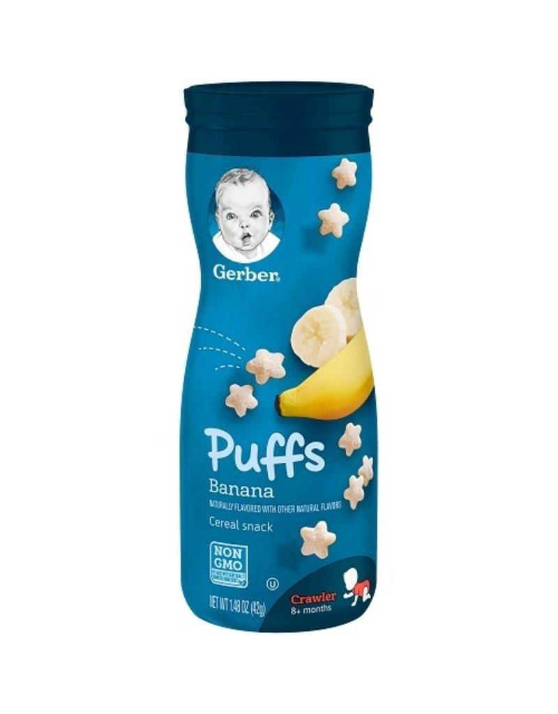 Gerber Gerber Puffs Banana, 1.48 oz, 6 ct