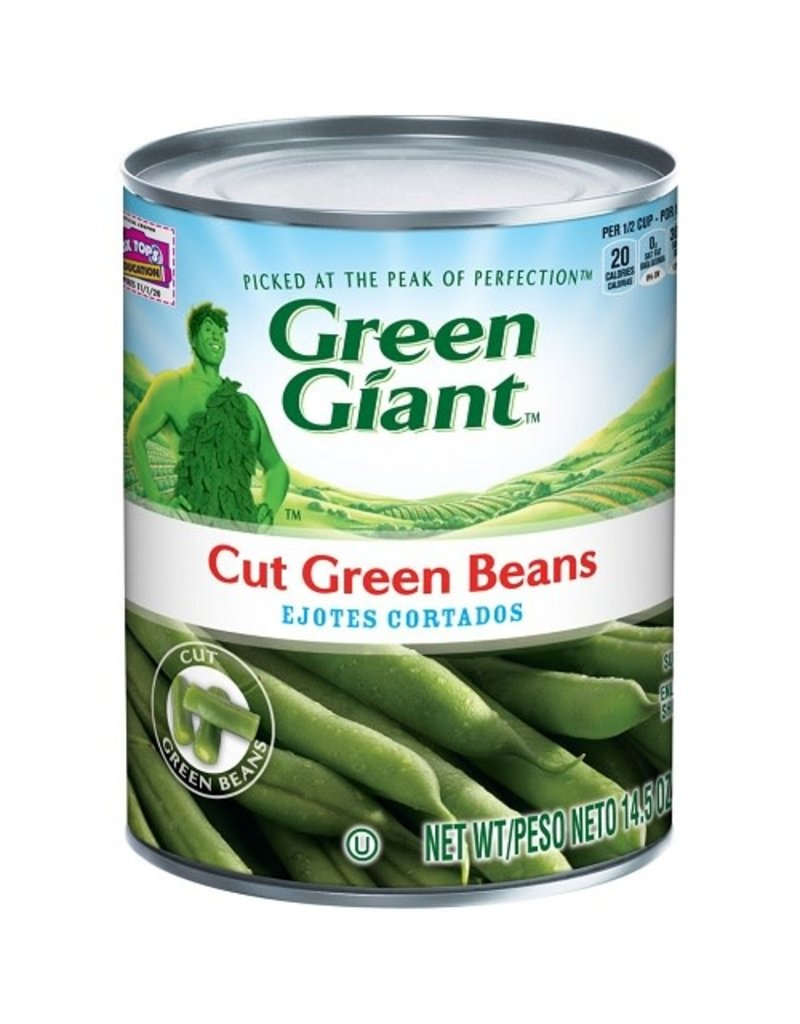 Green Giant Green Giant Cut Green Beans, 14.5 oz, 24 ct