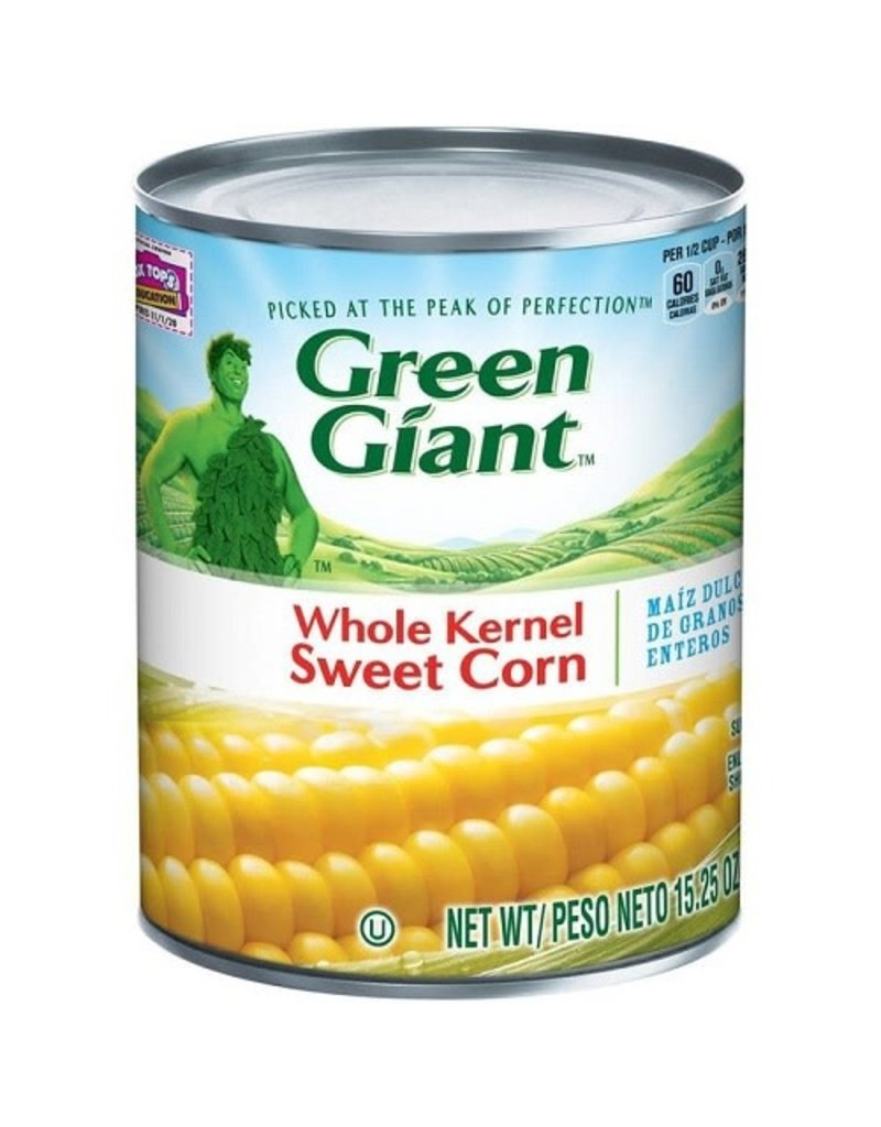 Green Giant Green Giant Whole Kernel Corn, 15.25 oz, 24 ct