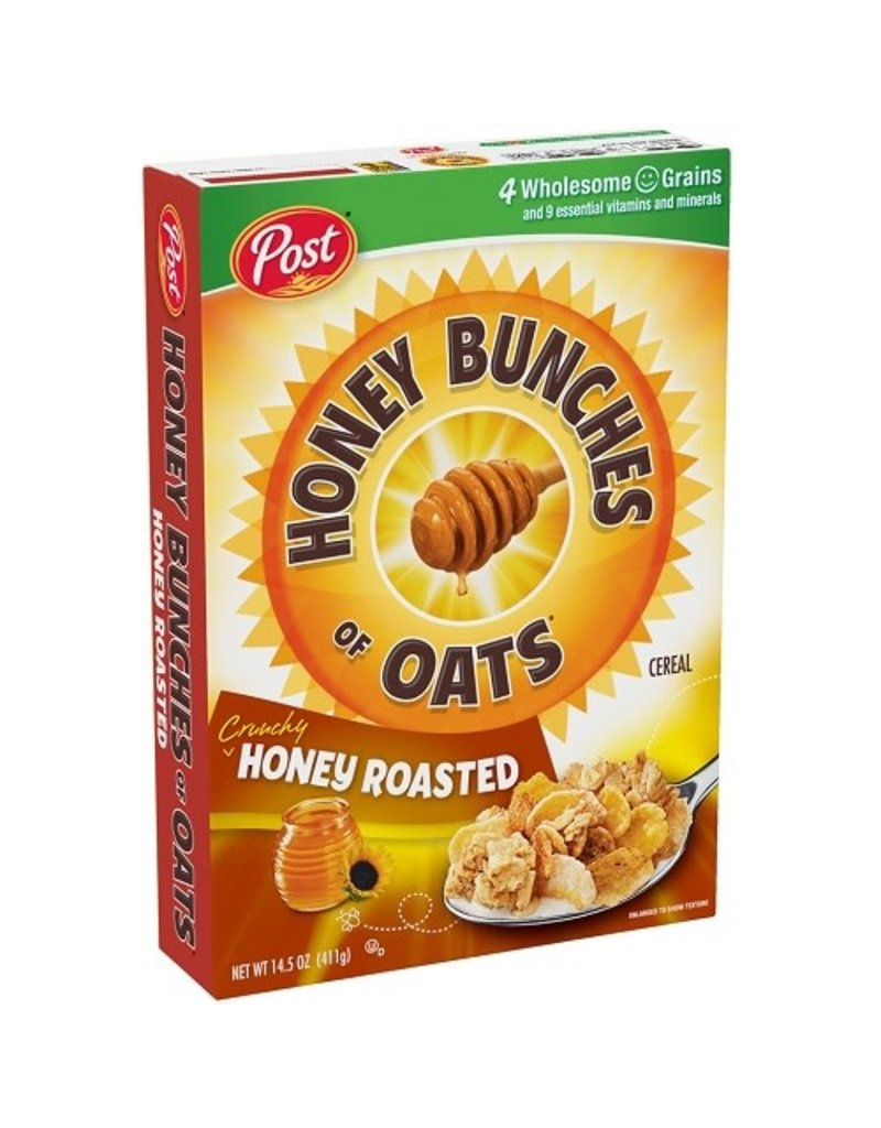 Post Post Honey Bunches Of Oats Honey Roasted, 14.5 oz