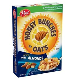 Post Post Honey Bunches Of Oats With Almonds, 14.5 oz