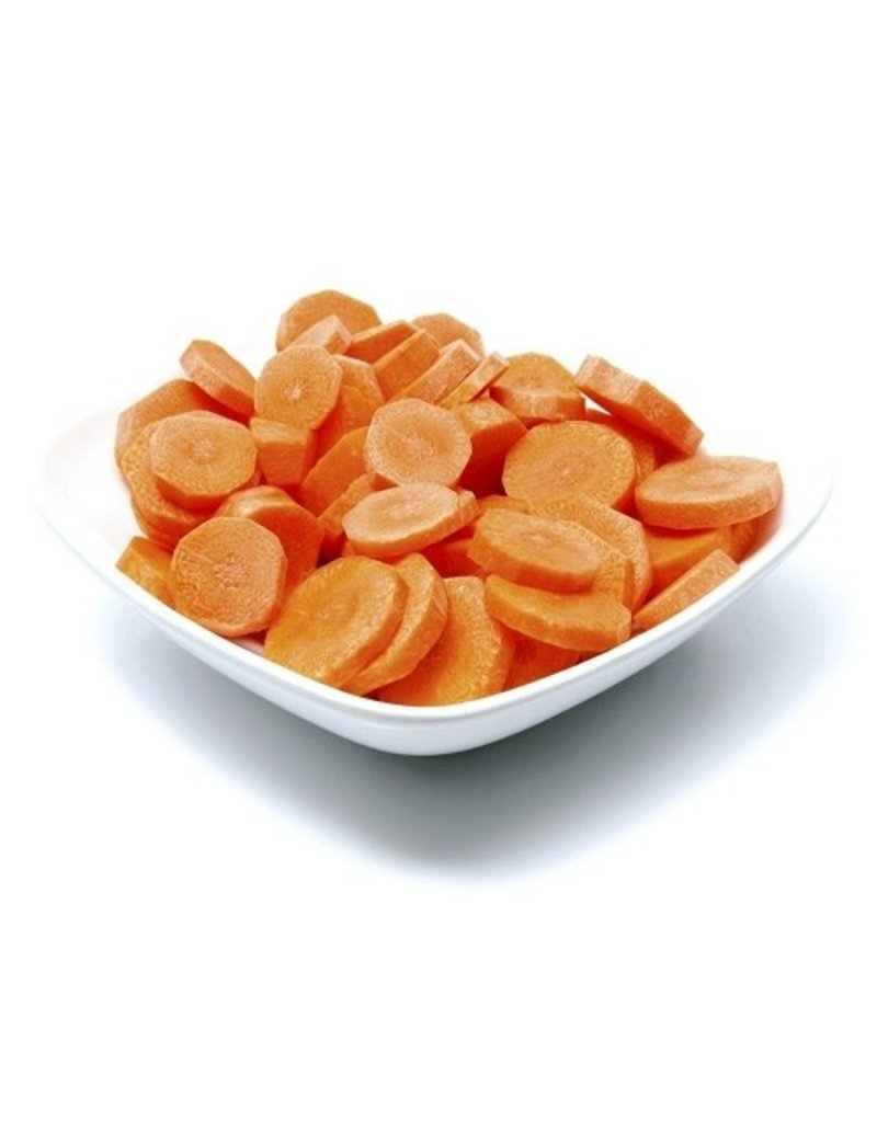 Sysco Sliced Medium Fancy Carrots, #10, 6 ct