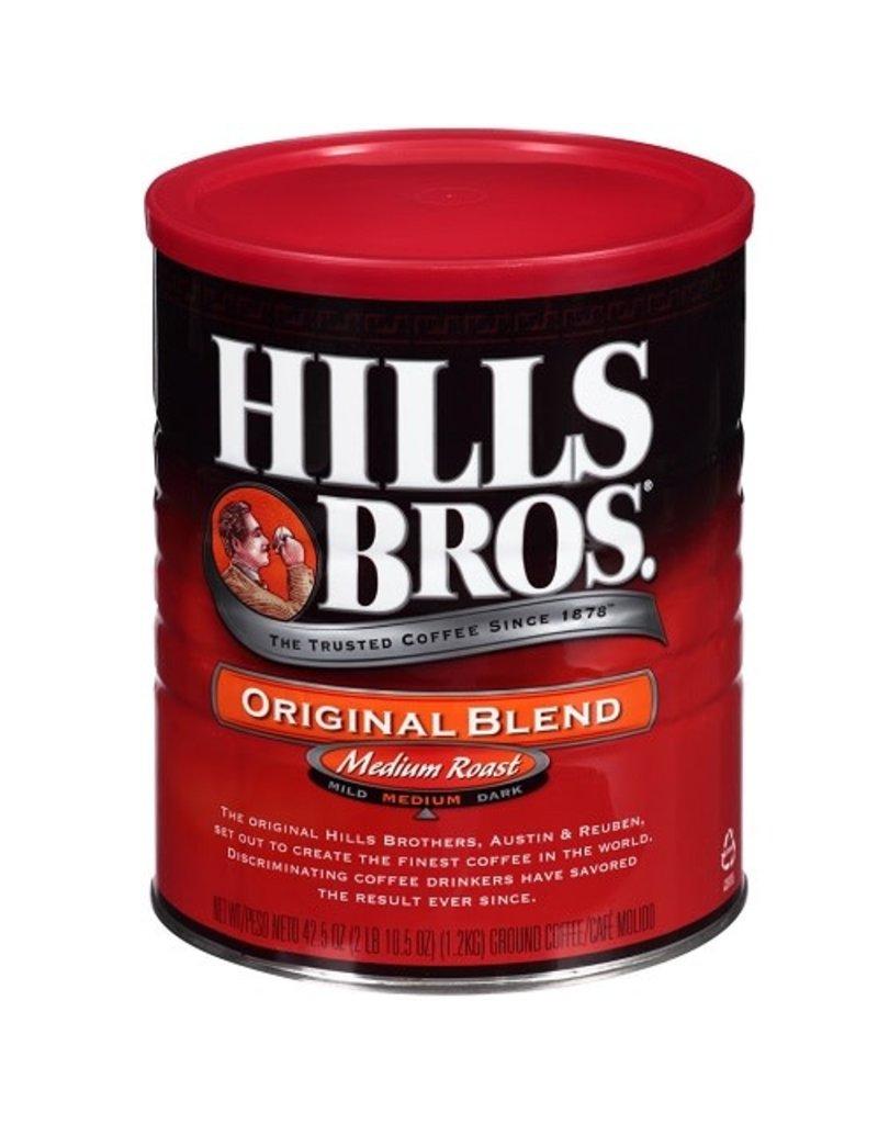Hills Bros Hills Bros Original Blend Ground Coffee, 42.5 oz, 6 ct