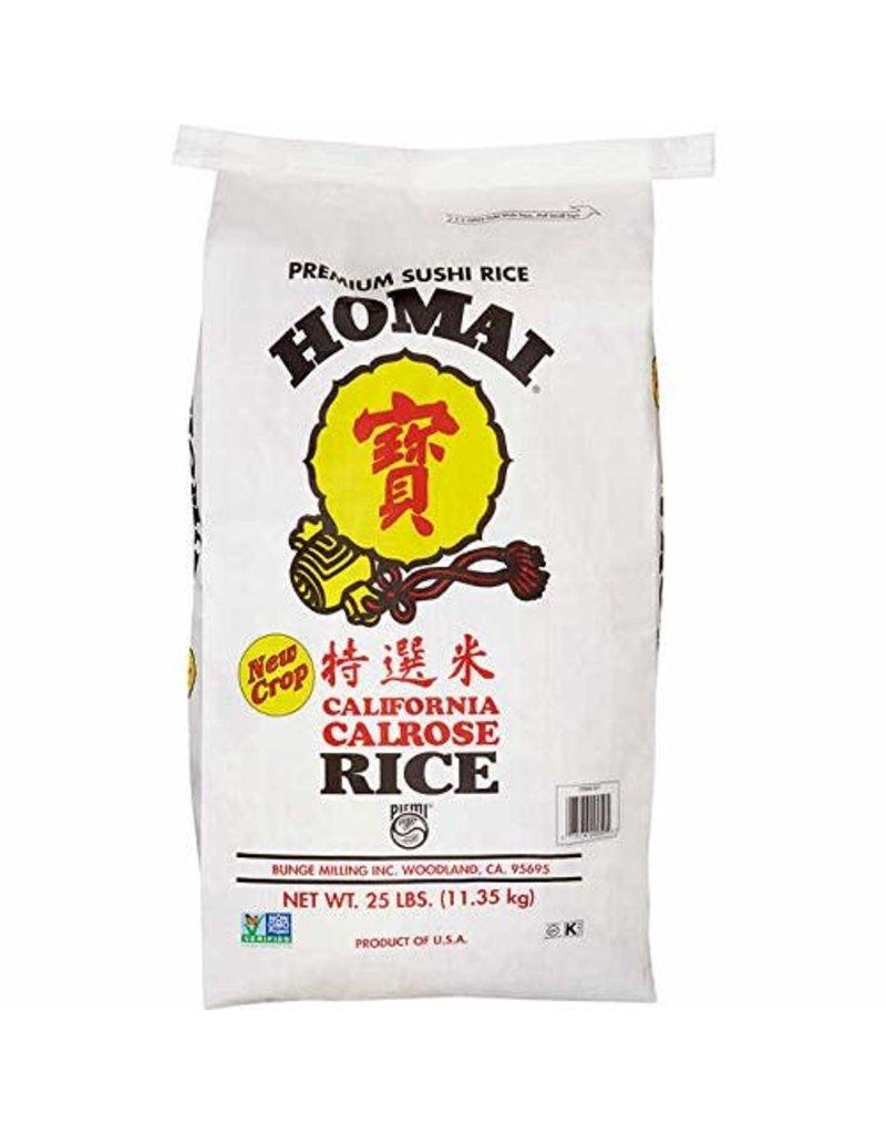 Homai Homai Calrose Fancy Rice, 25 lb