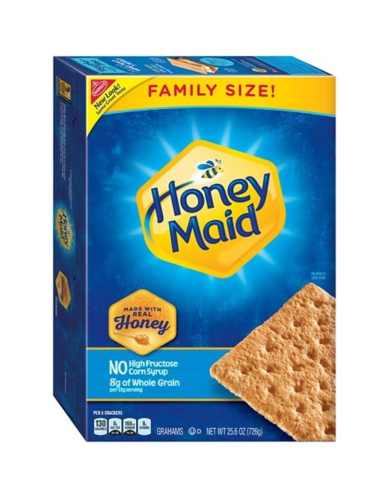 Nabisco Honeymaid Graham Crackers Bonus Size, 25.6 oz, 6 ct