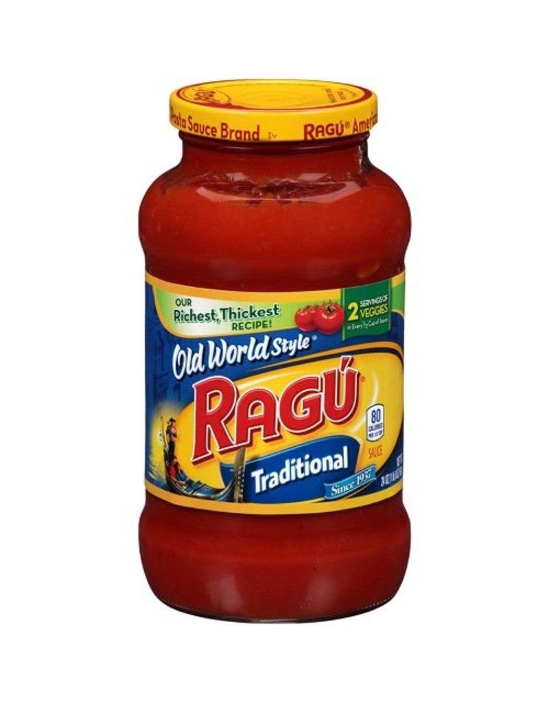 Ragu Ragu Old World Style Traditional Pasta Sauce, 24 oz, 12 ct