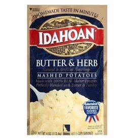 Idahoan Idahoan Instant Mashed Potatoes Butter Herb, 4 oz, 12 ct