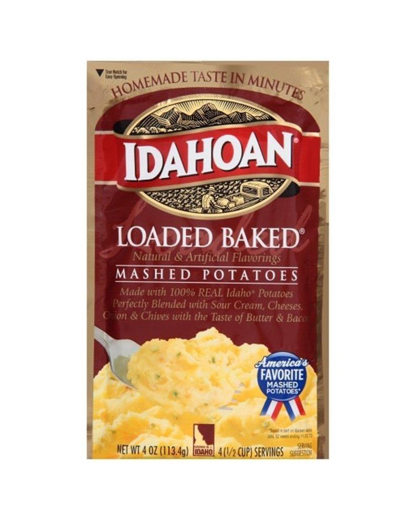Idahoan Idahoan Instant Mashed Potatoes Loaded Baked, 4 oz, 12 ct