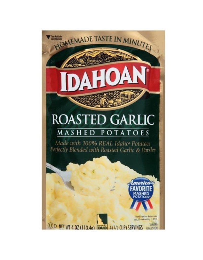 Idahoan Idahoan Instant Mashed Potatoes Roasted Garlic, 4 oz, 12 ct