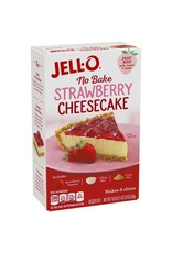 Jello Jell-O Cheesecake Strawberry Mix No Bake Dessert, 19.6 oz, 6 ct