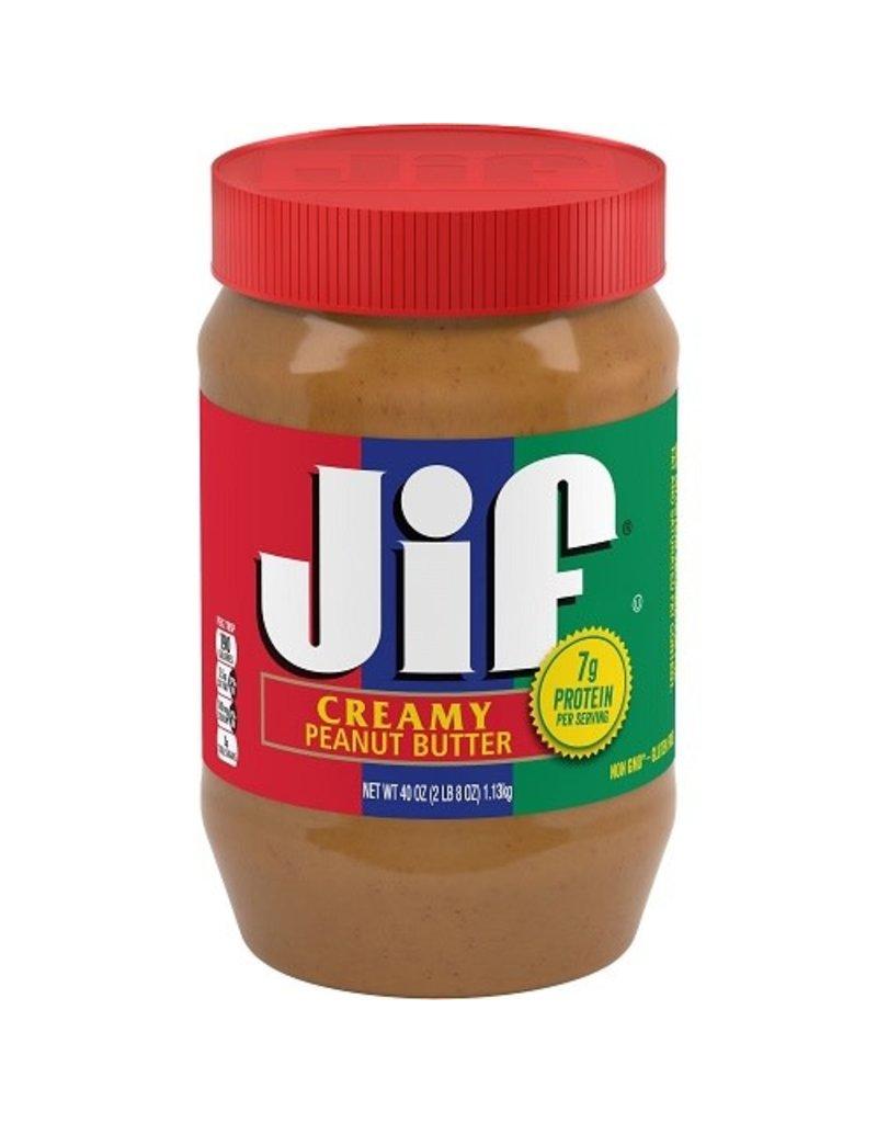 Jif Jif Creamy Peanut Butter, 40 oz