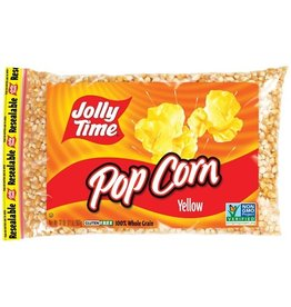 Jolly Time Jolly Time Yellow Popcorn Poly Bag, 2 lb, 12 ct