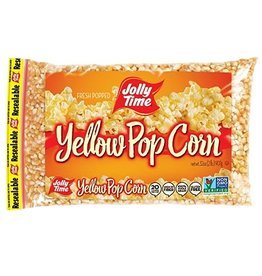Jolly Time Jolly Time Yellow Popcorn, 4 lb, 6 ct