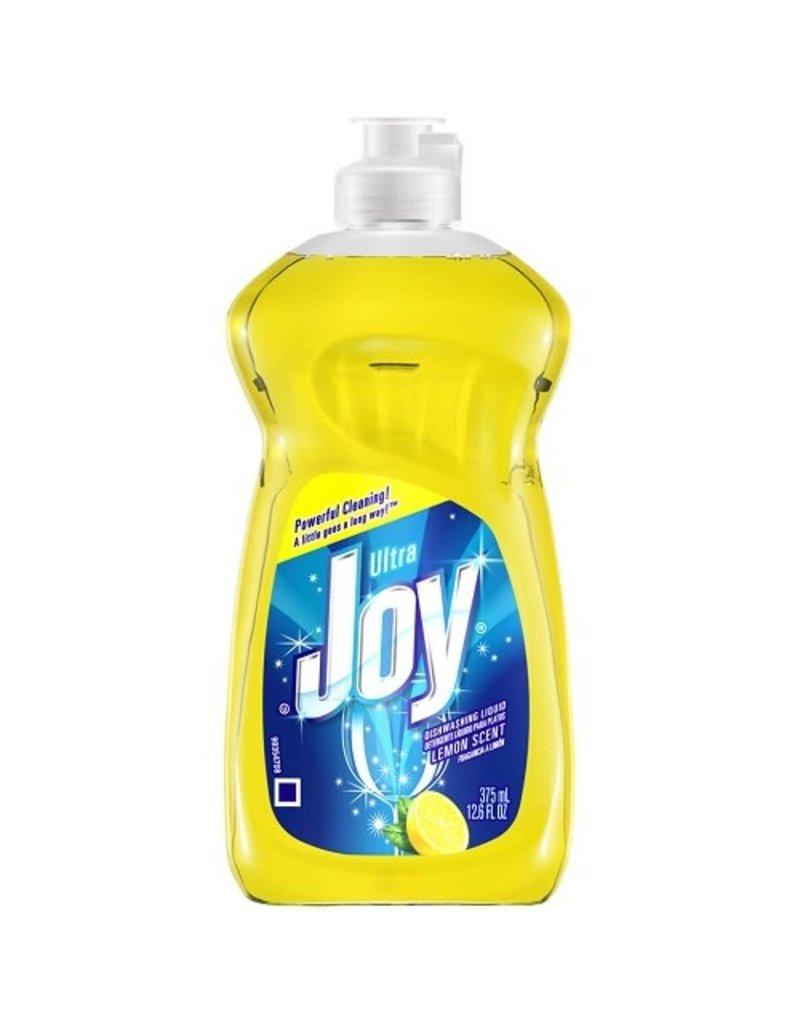Joy Joy Ultra Lemon Scent Dishwashing Liquid, 12.6 oz, 25 ct