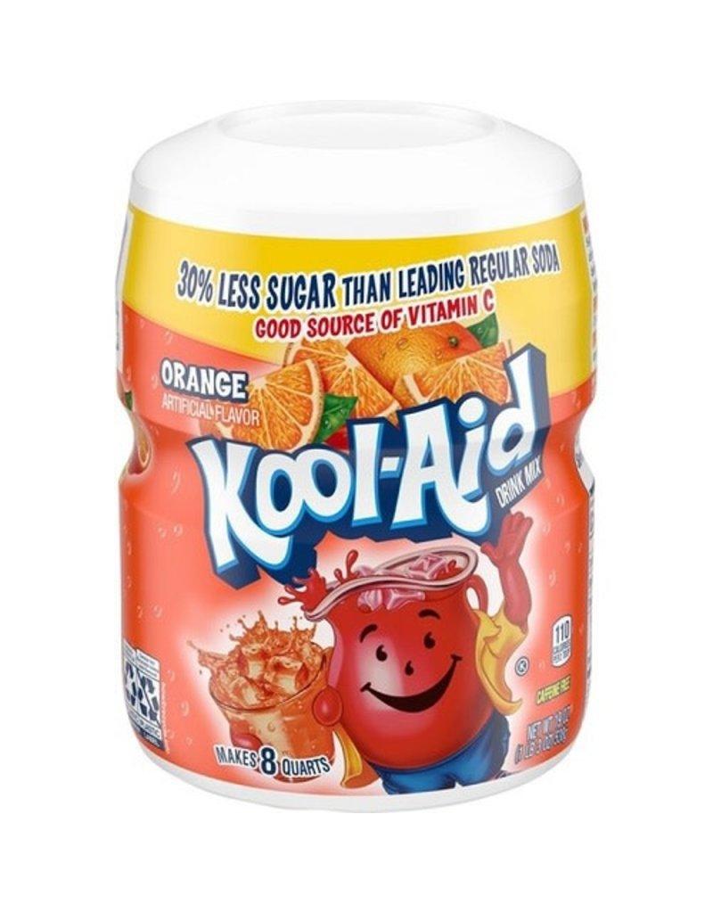 Kool-Aid Kool-Aid Orange (Makes 8 Quarts), 19 oz, 12 ct