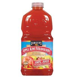 Langers Langers Apple Kiwi Strawberry 100% Juice, 64 oz