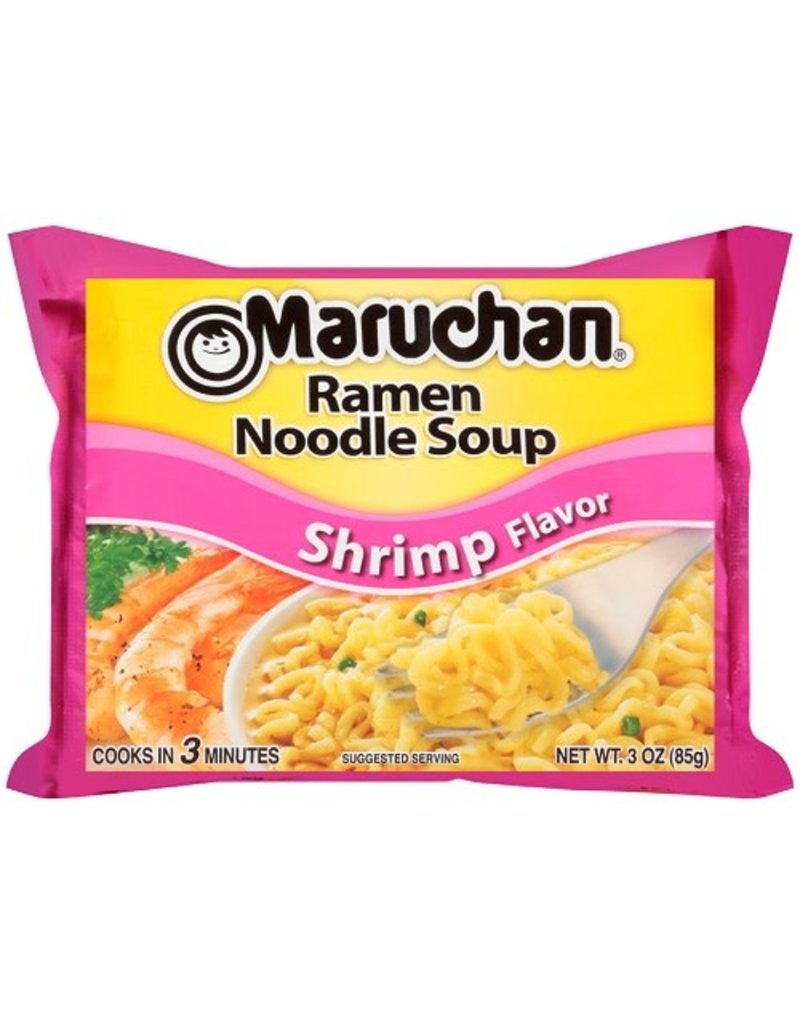 Maruchan Maruchan Shrimp Ramen Noodle Soup Dry, 3 oz, 24 ct