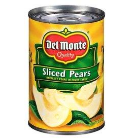 Del Monte Del Monte Sliced Pears, 15.25 oz, 12 ct