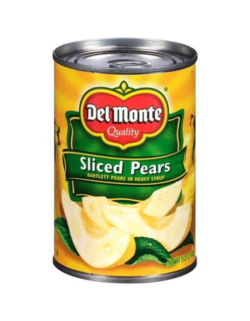 Del Monte Del Monte Sliced Pears, 15.25 oz